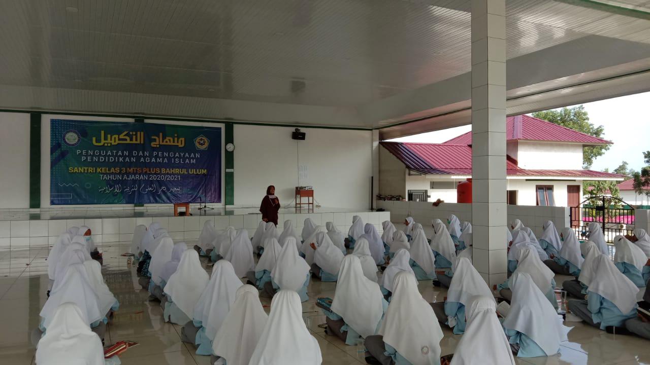 Penguatan dan Pengayaan Pendidikan Agama Islam Bagi Santri Kelas X MTs Plus Bahrul Ulum